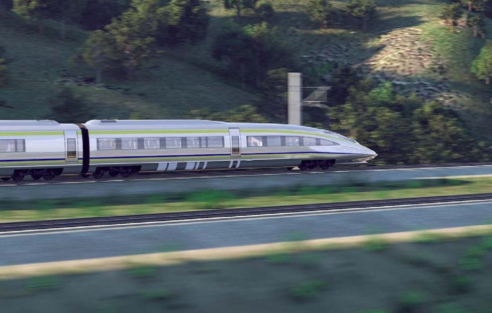 Tren de alta velocidad: lo que sabemos sobre su construcción