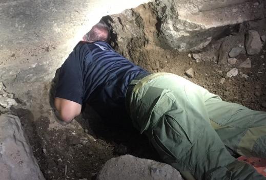 Un equipo mexicano-estadounidense encontrón el túnel.