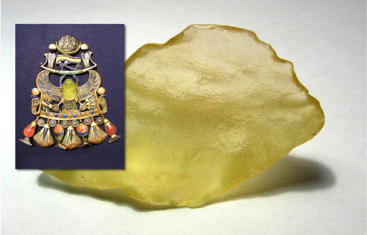 Descubren el misterioso origen de los cristales amarillos del desierto egipcio