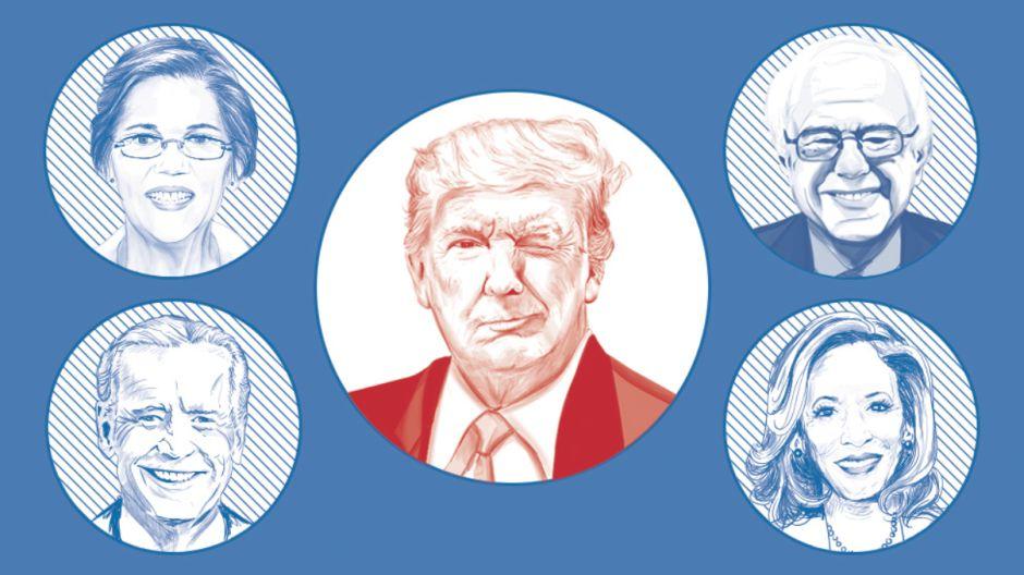 Elecciones 2020 en Estados Unidos: todos los candidatos demócratas que compiten por enfrentarse a Trump