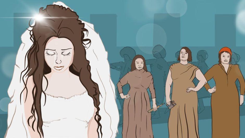 La prueba de las sábanas de la noche de bodas: una tradición antigua que aún tortura a mujeres