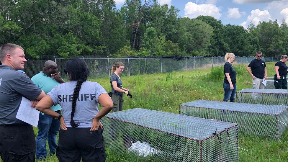 Los cementerios forenses prestan servicios a las autoridades.