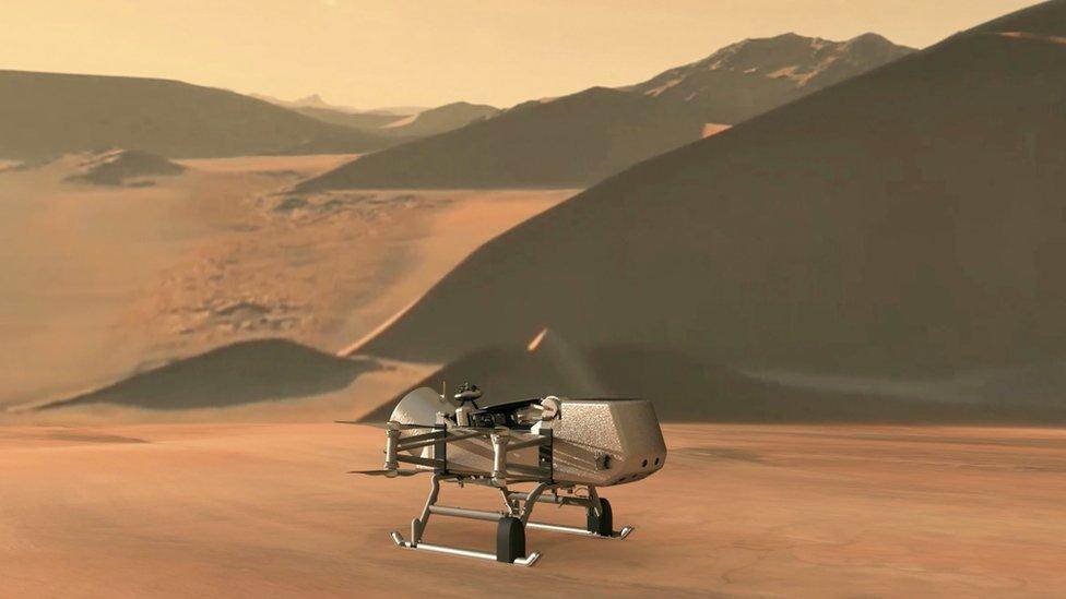 Misión Dragonfly de la NASA a Titán: ¿por qué la luna más grande de Saturno es ideal para buscar vida extraterrestre?