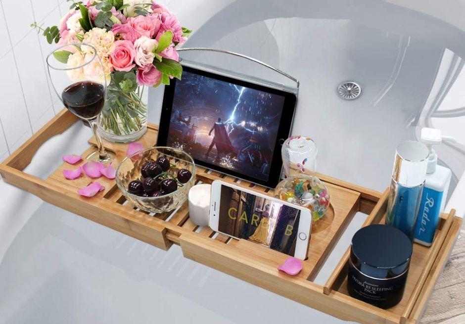 Las 5 mejores bandejas de tina para comer o ver películas mientras te bañas