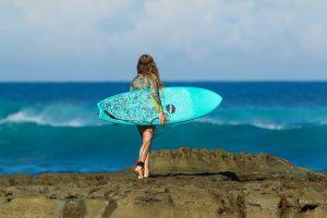 Campeonato de surf para perros en California, ahora en línea