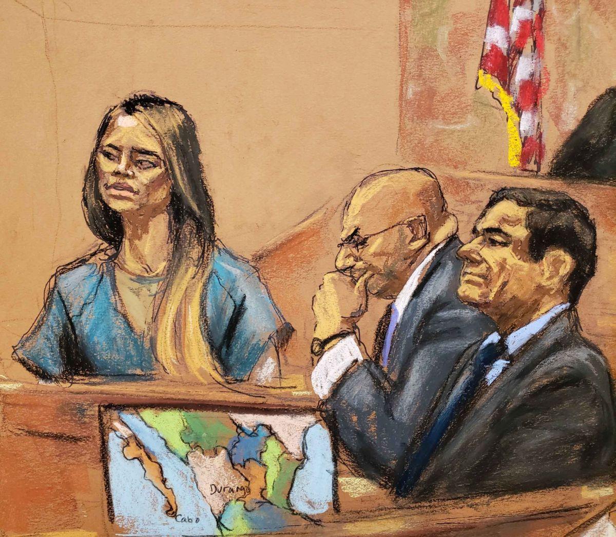 """La """"Chapodiputada"""" rindió testimonio contra Guzmán Loera."""