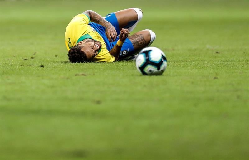 Brasil confirma que Neymar se pierde la Copa América por una grave lesión