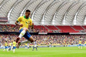 Brasil puede sin Neymar y le propina tremenda goliza a Honduras