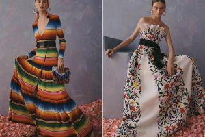 """Acusan a Carolina Herrera de plagiar diseños indígenas, firma dice que es """"homenaje"""" a la cultura mexicana"""