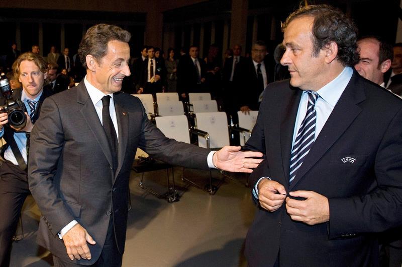 Michel Platini fue detenido acusado de presuntos actos de corrupción
