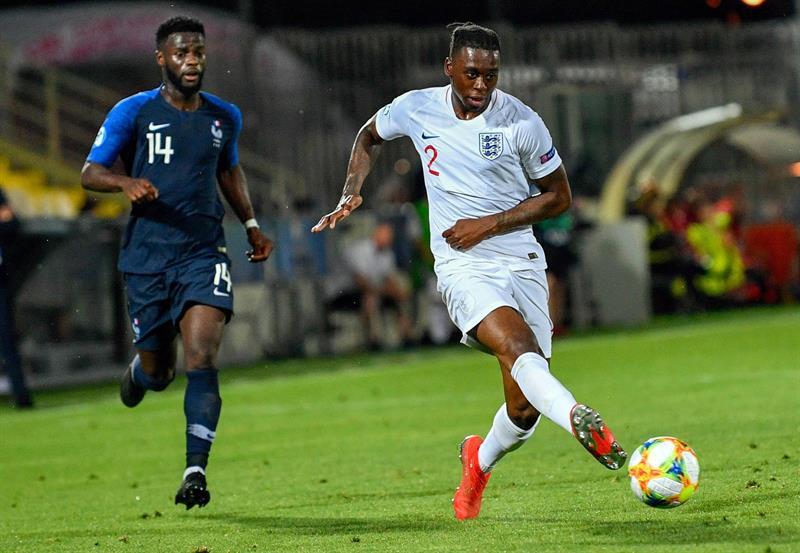 Manchester United ficha al mejor defensa inglés Aaron Wan-Bissaka