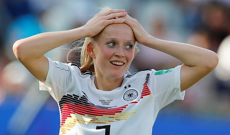 Alemania fue favorecida por el VAR en los octavos de final ante Alemania