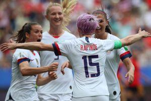 Selección femenil de Estados Unidos derrota a Canadá en el comienzo de la Copa SheBelieves