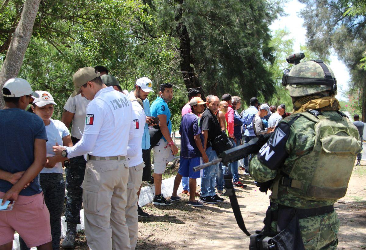 La Guardia Nacional se instala en Tijuana en medio del temor de migrantes