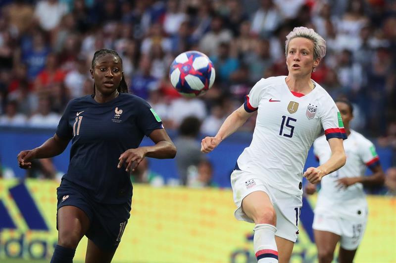 Estados Unidos pone fin al sueño de Francia en el Mundial Femenil