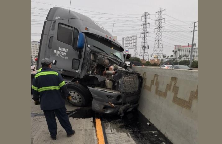 Tres carriles de autopista I-5 estarán cerrados por horas en zona de Commerce
