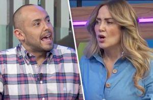 Andrea Legarreta explota contra Mauricio Clark por postura anti-gay durante programa en vivo