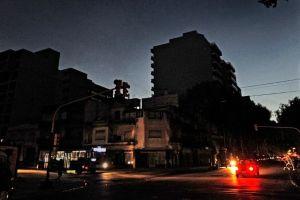 Fuerte apagón en Argentina y Uruguay