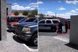 """VIDEO: Policía detiene con agresiones a familia porque niña de 4 años """"robó"""" una muñeca de $0.99"""