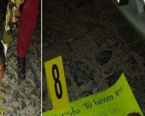VIDEO: Sicarios así abandonan cabeza y cuerpo descuartizado de víctima