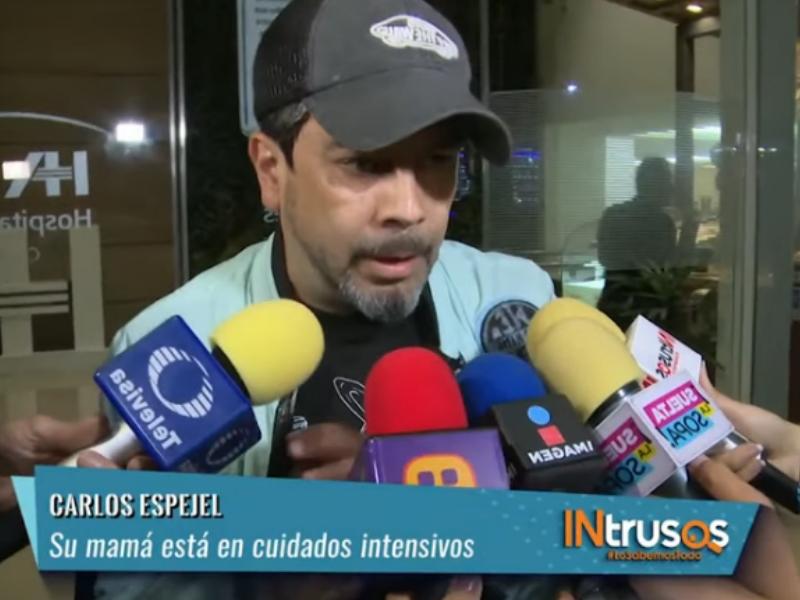 Carlos Espejel vive un duro momento: Su mamá sufrió un infarto