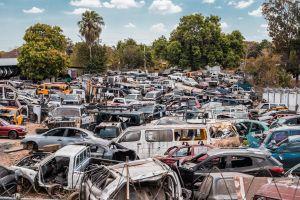 Un granero con 50 autos clásicos de ensueño