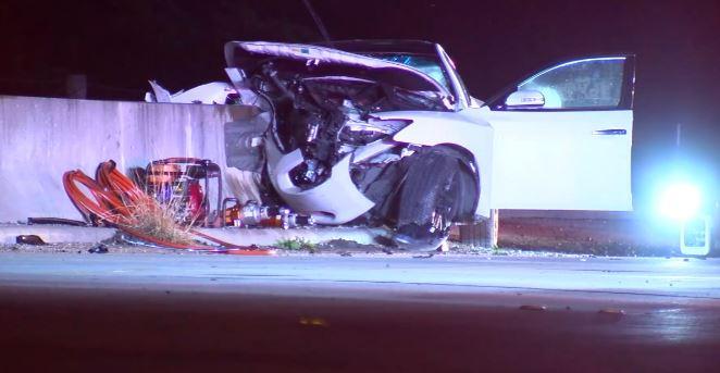 Houston: Conductora fallece en choque violento y tres pasajeros acaban heridos
