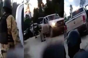 """VIDEO: Así presume el CJNG de """"El Mencho"""" su supuesta expansión en Querétaro"""