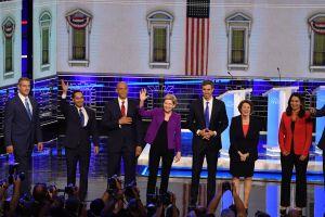 Crisis migratoria, tema principal en primer debate demócrata