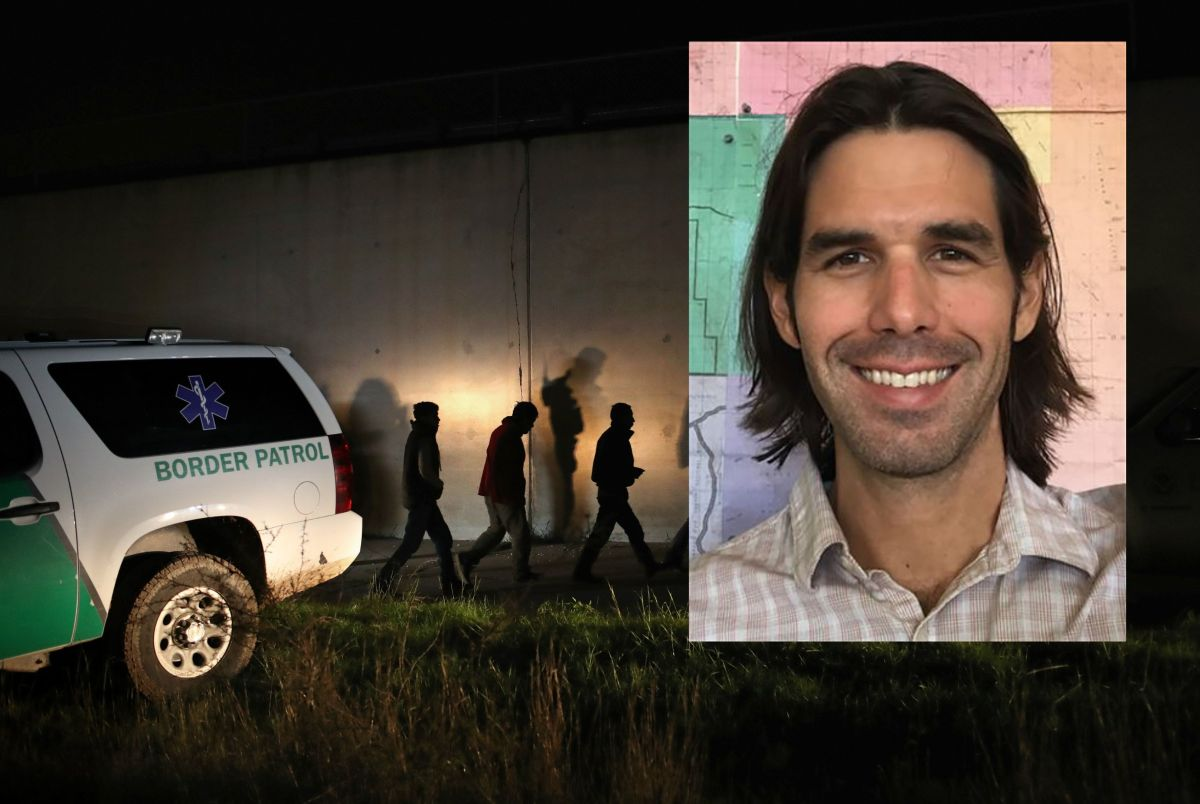 Scott Warren, el activista que ayuda a inmigrantes en en el desierto.