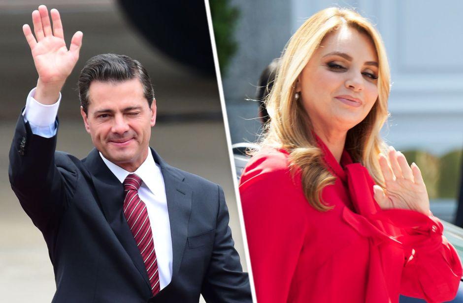 Angélica Rivera responde al baile de su ex, Enrique Peña Nieto