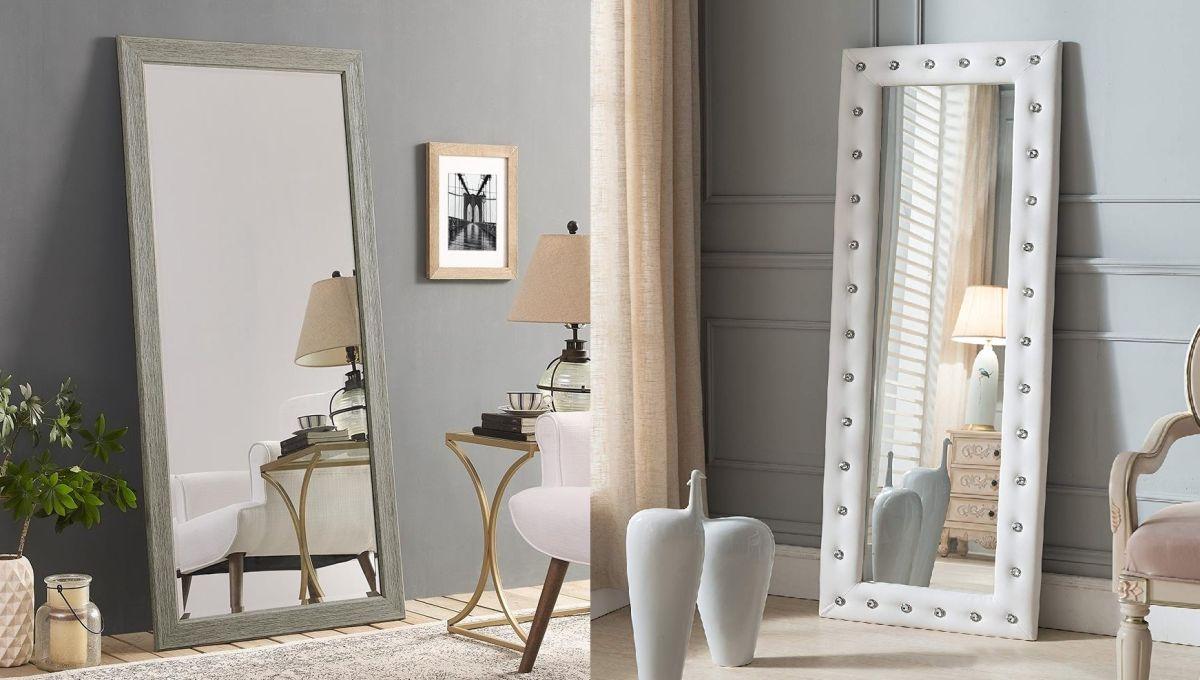 Los 5 mejores espejos de cuerpo completo para tener en tu habitación y verte completa antes de salir
