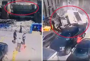 """Muere conductor de casa rodante al """"volar"""" y caer sobre ferry"""
