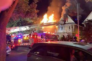 Incendia su casa porque había una araña
