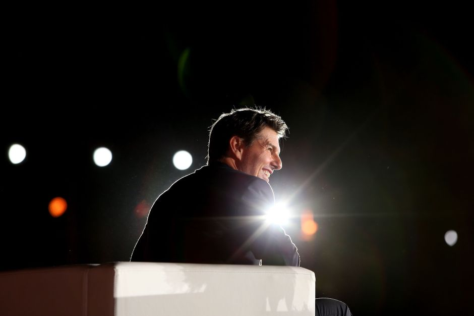 Tom Cruise es nombrado 'Aviador Naval Honorario' del ejército estadounidense