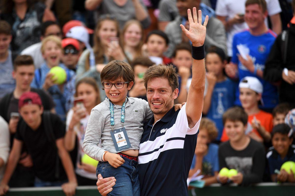 Nicolas Mahut - Roland Garros.