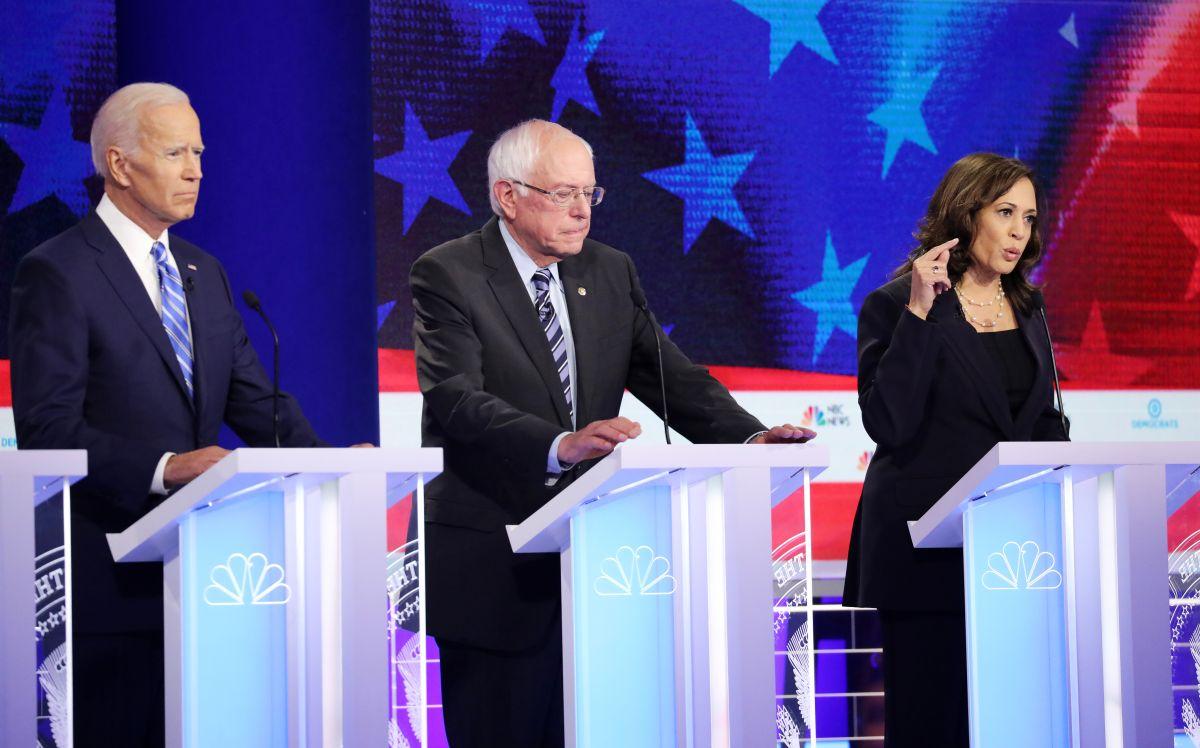 Joe Biden, favorito en las encuestas, recibió fuerte ataque de Kamala Harris en debate demócrata