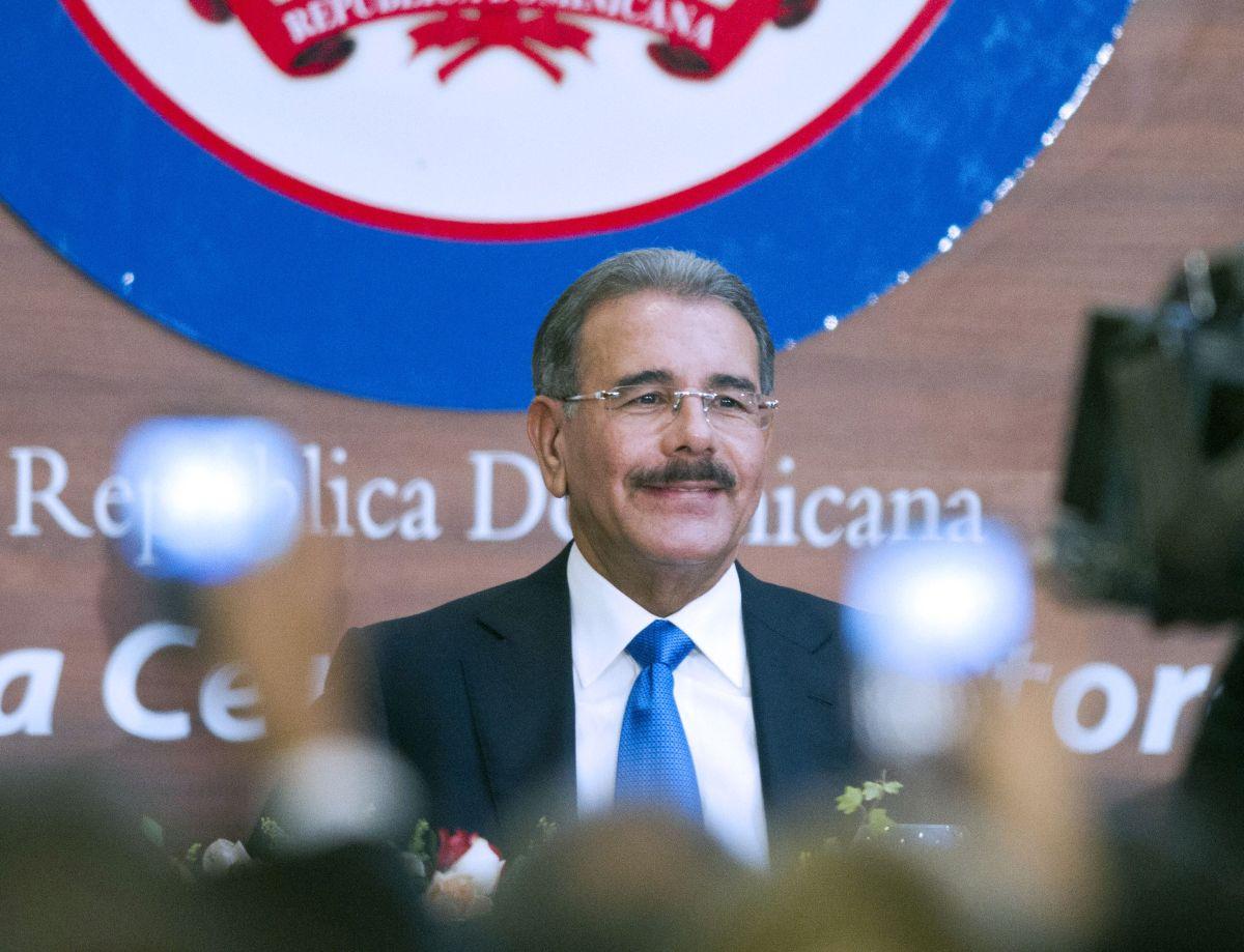 Danilo Medina, presidente de Dominicana