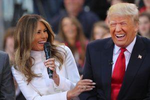 La comparación que Trump hizo sobre Melania que desató burlas en Twitter