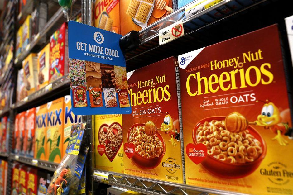 Hallan glifosato en cereales de Cheerios y Nature Valley