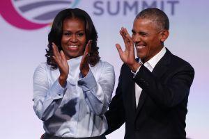 Barack y Michelle Obama no caben de la felicidad por victoria de Joe Biden y Kamala Harris