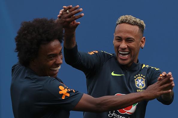 Willian es el sustituto de Neymar en Brasil para la Copa América