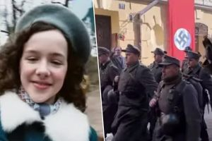 Recrea en Instagram la triste historia de una víctima del Holocausto y se hace viral