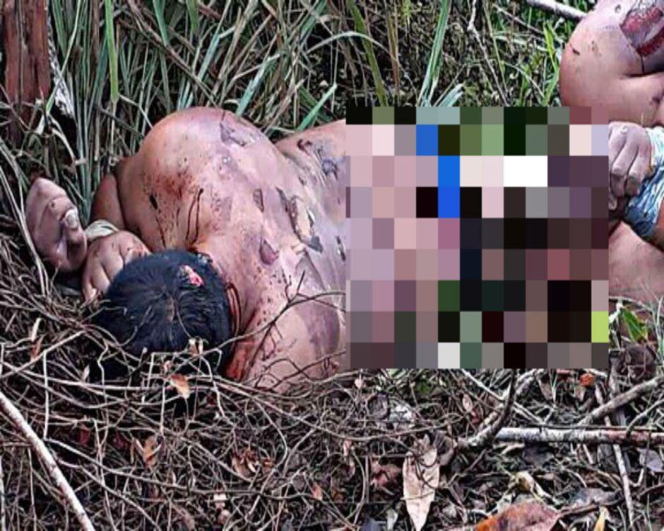 Guerra entre huachicoleros y narcos deja dos torturados; al parecer les arrancaron la piel