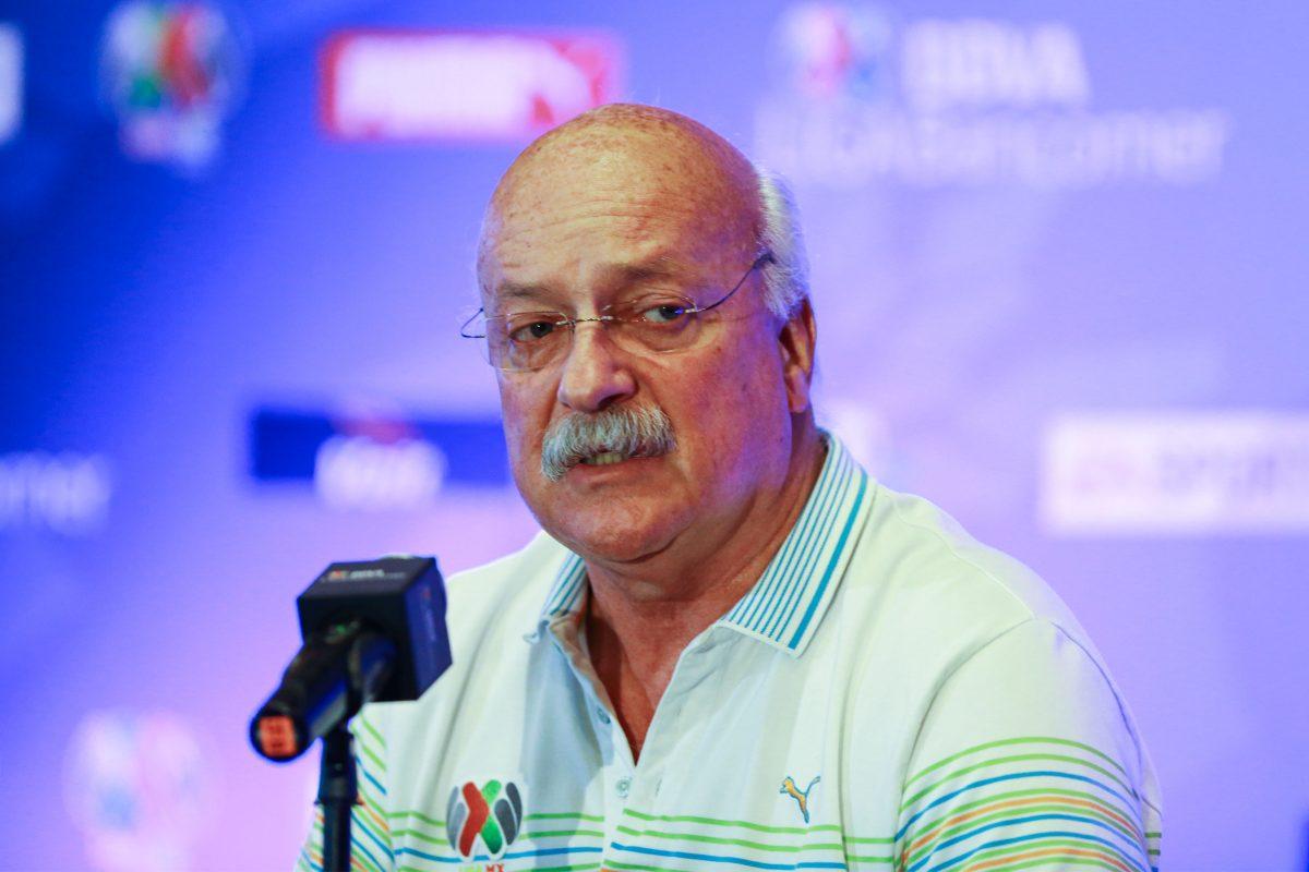 Enrique Bonilla presidente de la LigaMX.