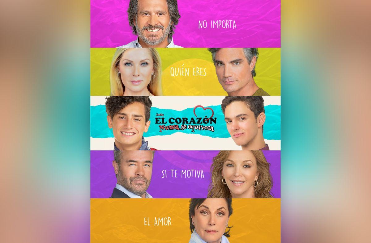 """""""Juntos, el corazón nunca se equivoca"""" de Televisa"""
