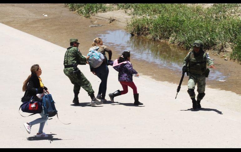 AMLO reconoce excesos de la policía contra migrantes