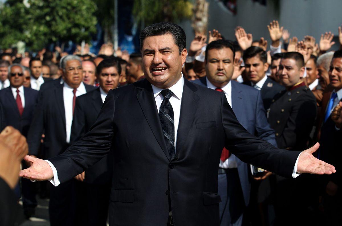 Naasón Joaquín García, líder de La Luz del Mundo actualmente está tras las rejas. (Archivo)