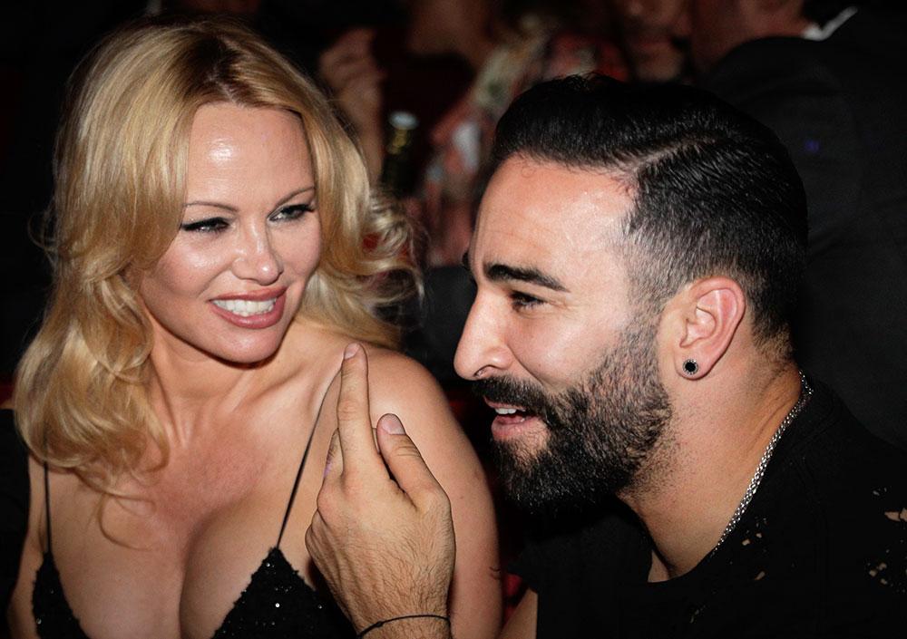 """Pamela Anderson termina su relación con el futbolista Adil Rami: """"Es un monstruo"""""""