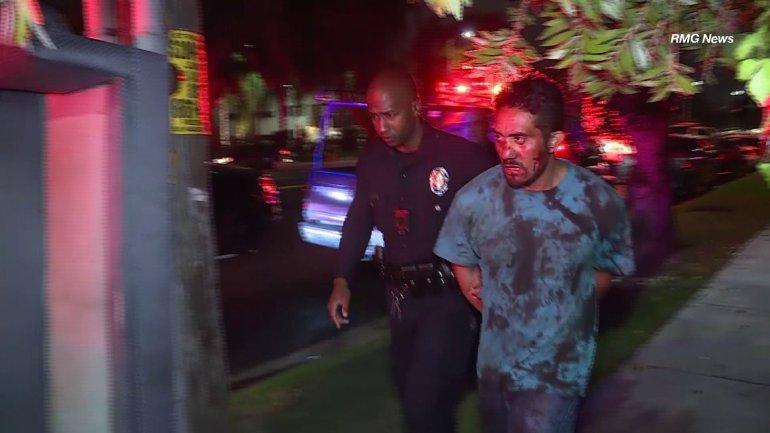 Acusan a latino de matar a esposa y herir a vecinos con machete en Panorama City